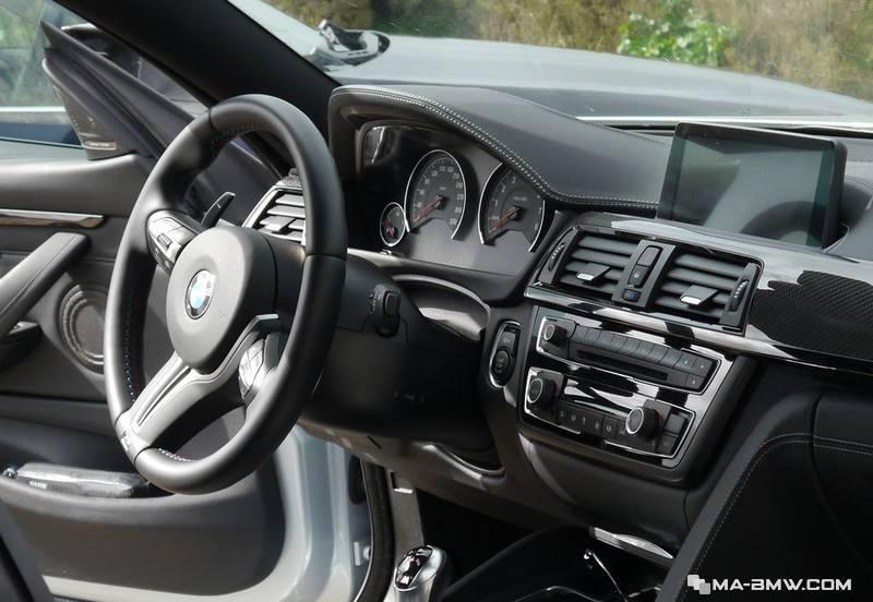 Intérieur BMW M4 DKG