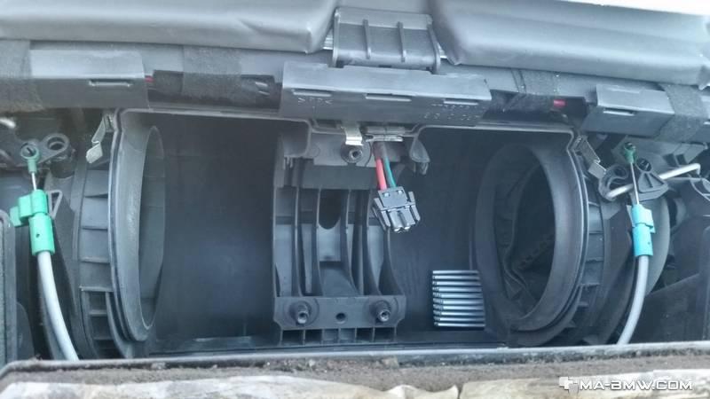 Régulateur unité de commande ventilation-BMW e38 Chauffage résistance-Ventilateur Climatisation