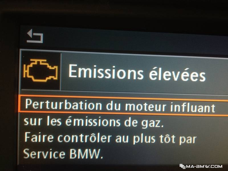 Emissions Elevees Odb Temoin Orange Moteur Forum Ma Bmw