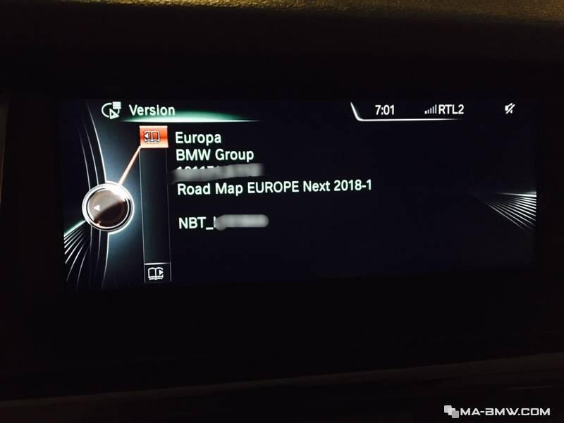 MISE BMW E60 TÉLÉCHARGER JOUR A GPS