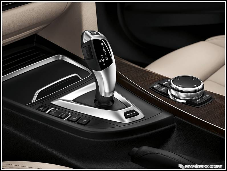 BMW eDrive joystick