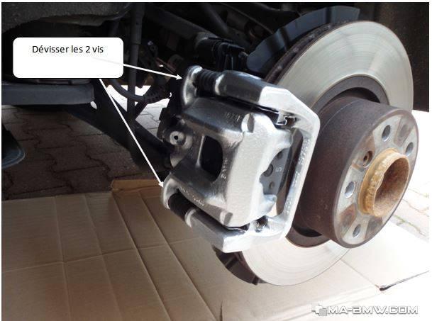 3er e90 e91 e92 e93 Disques de frein plaquette de frein frein à main arrière BMW 1er e81 87